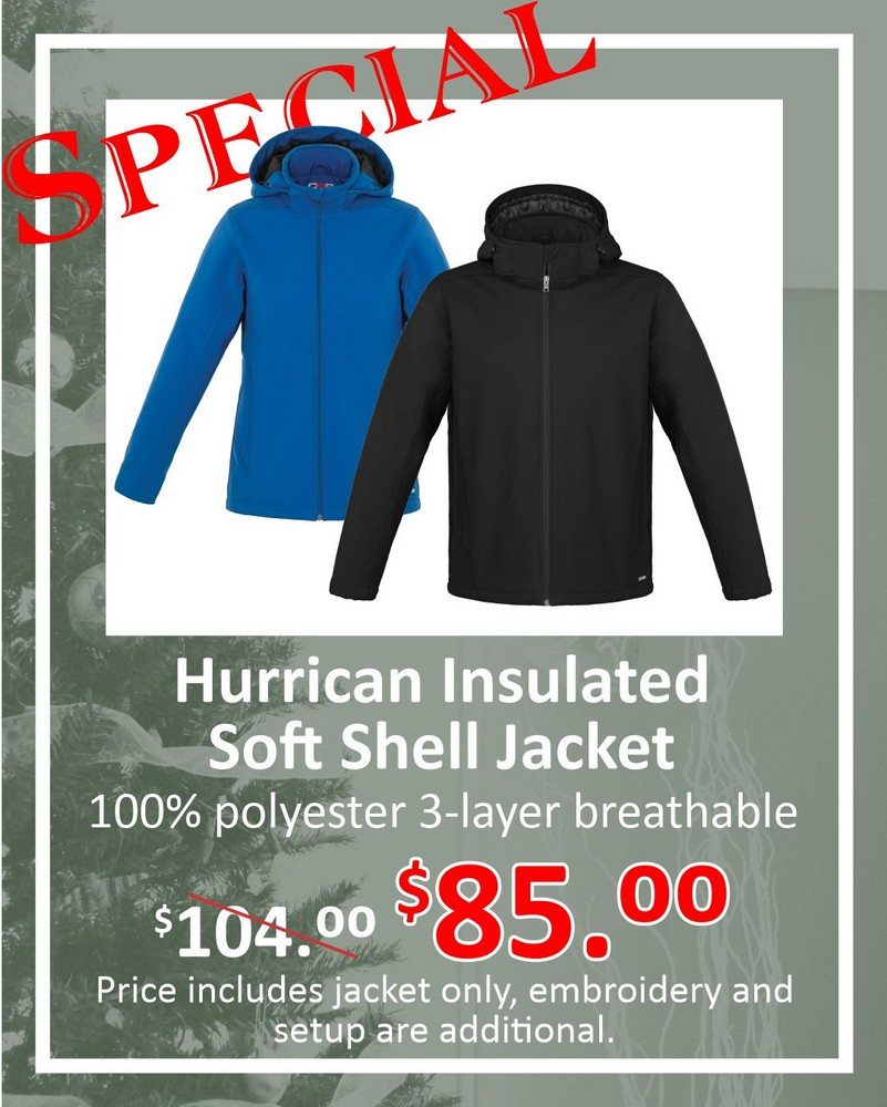 Hurrican Insulated Soft Shell special